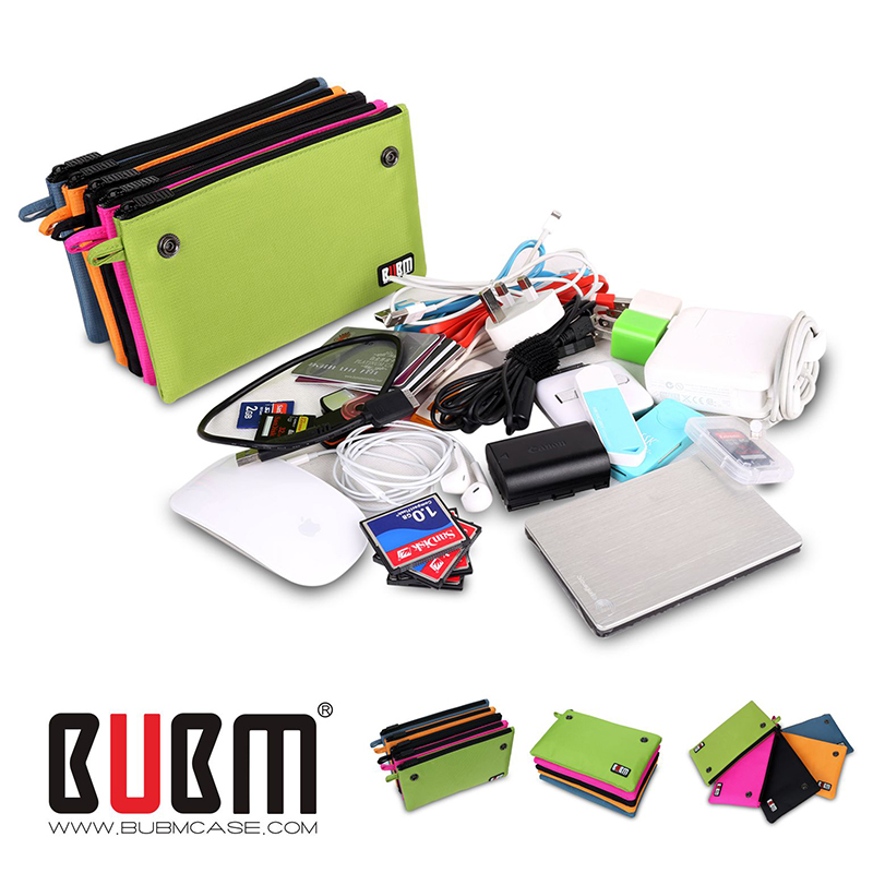 BUBM Promotional Gifts travel organizer electronics accessories for disk Flash Drive SD Card Battery Headphone Storage Bag