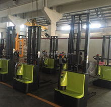 Bias Electric Stacker batter forklift powered electric pallet stacker Everlift stacker , with low price and CE mark
