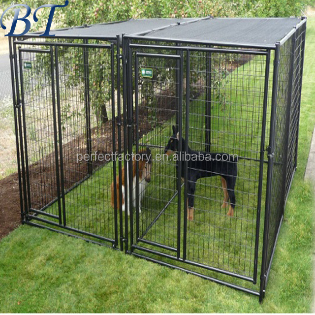 Wholesale Dog Cages / Welded Wire dog run Kennel/Pet Enclosure chinese supplier