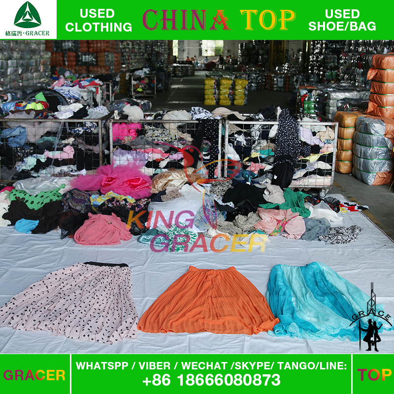 Global hot sale cheap import used clothes/clothing wholesale to canada