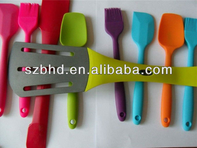 Large Stock Cheap Factory Price Silicone BBQ Tools Set