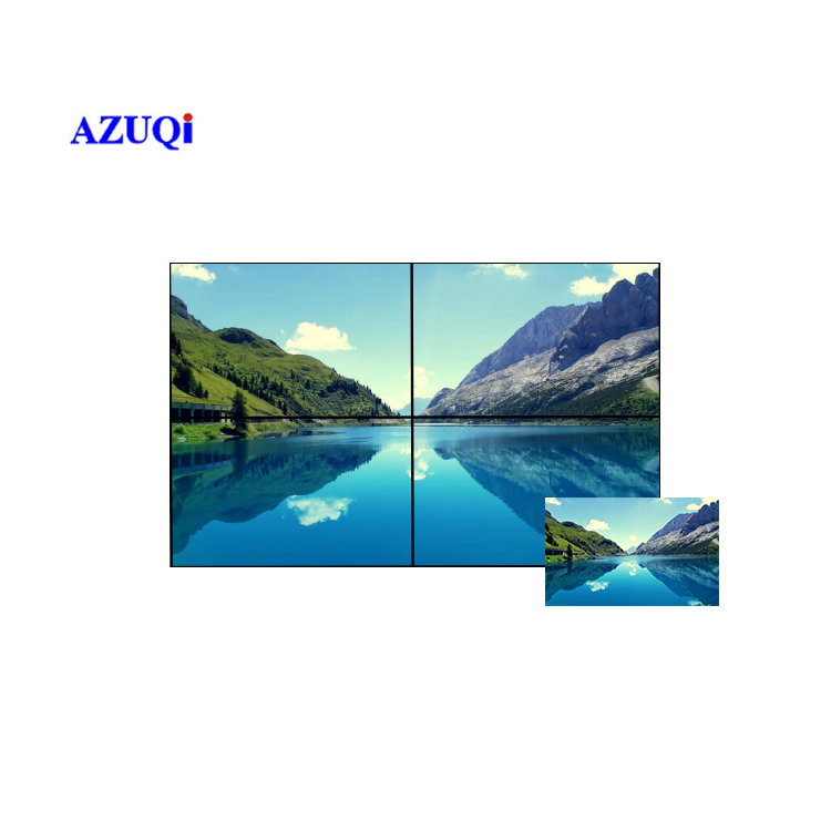 Fashionable Video TV Panel 49 inch HDMI Television Walls