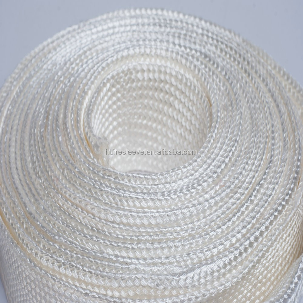 fiberglass heat insulation sleeving for electronical wire and copper wire
