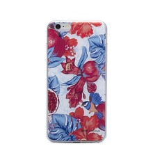 "Floral 4.7"" TPU phone case for iphone 6 case 3D print Customized cellphone case"