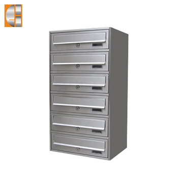 GH-V16S stainless steel apartment letterbox mailbox