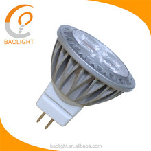 China Low Voltage AC/DC 12V-24V LED Light Bulb 3W cluster MR11 GU4 Bi Pin