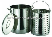 Outdoor Stainless Steel Cookware