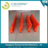 mining Primary / secondly / V type Polyurethane Conveyor Belt Cleaner / Sweeper / scraper