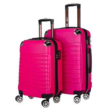 China Manufactured ABS PC Hard Shell Portable Travel Trolley Case