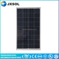 high efficiency 100w poly soalr panel with frame and MC4 connector with following specifications