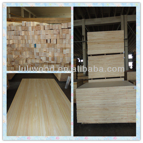 Radiata Pine finger joint board from china manufacture