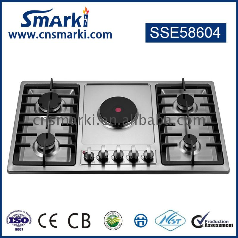 The lowest price Universal Professional Gas Cooktops Chinese factory