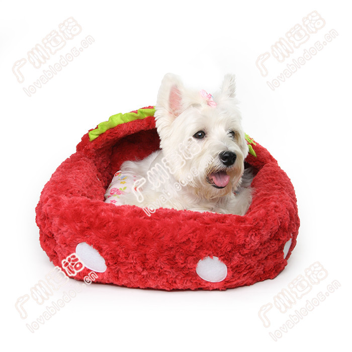 New pet products dog house strawberry boat bed pet accessories pet house