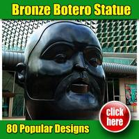 High quality reproduction bronze botero sculpture colombia