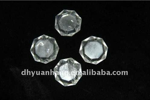 natural rock crystal carving pendants for chandelier, 100% natural rock stone carvings for chandeliers