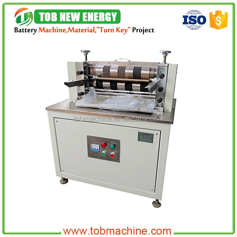 High Accuracy Single Knife Hobbing Slitting Machine for Li-ion Battery Electrode Cutting