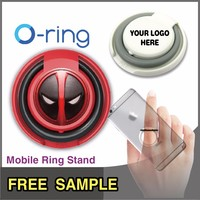 Free_Sample O-ring Custom Ring Holder Original Mobile Phone Accessories