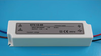 LED power supply plastic waterproof ip67 12V 100W constant voltage led driver