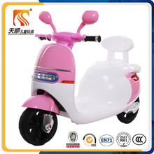 Factory direct sale new PP plastic kids electric motorcycle export to Italy