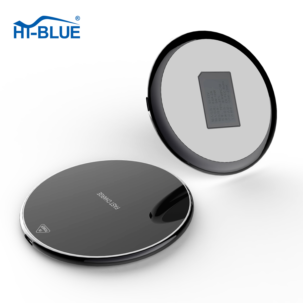 HT-W10 Mobile phone fast qi wireless charger circuit