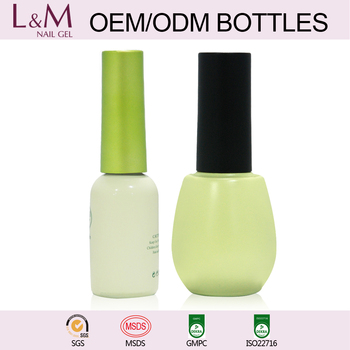 L&M Brand Manufacturer Wholesale Nail Gel Polish Glass Bottle Gel Polish for nails