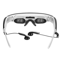 "68"" Private Virtual Theater 3D Video Games Glasses 1080P 4:3 Memory with 8GTF Card Slot AV-IN Port for DVD TV Box US Plug"