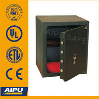 Home Office safes LSC515-K / single wall / Lazer cut door /double bitted key lock / 515 x 435 x 390 (mm).
