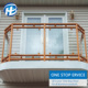 external glass balustrade systems Window Fence Design Glass Balcony Fence Metal Window Railing