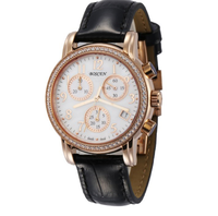 2016 Vogue Customized Best Price Luxury Wrist Women Watches Rose Gold