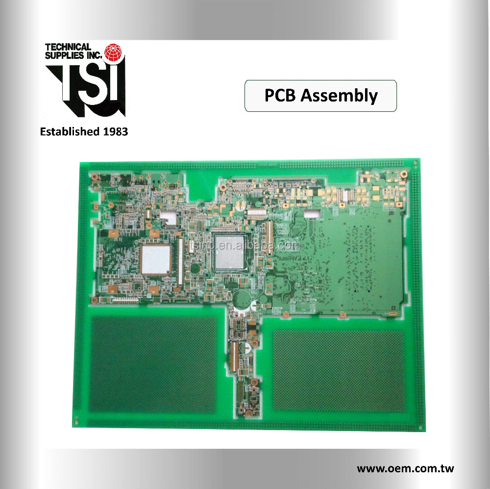 Custom OEM rigid pcb 94V0 printed circuit board assembly