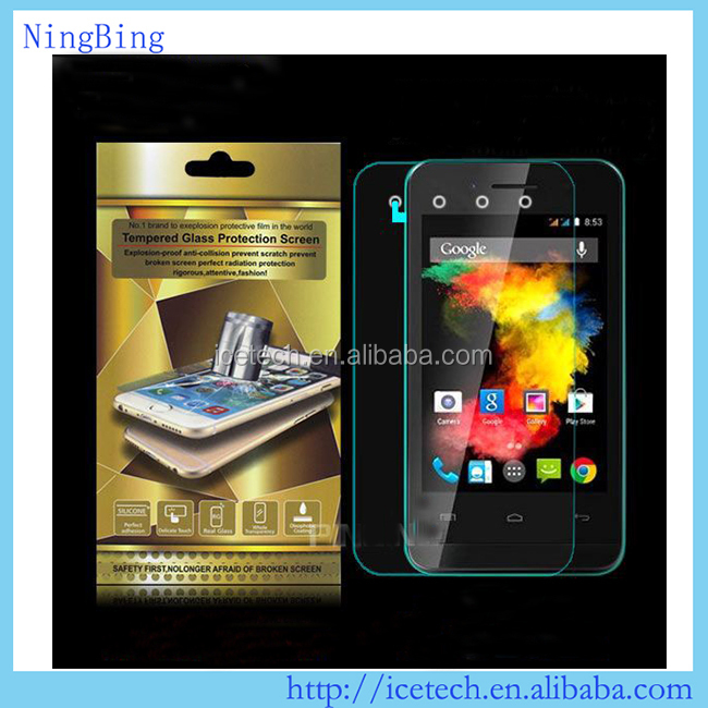 Hot selling 9H tempered glass screen protector for Symphony W91