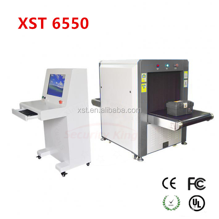2017 popular airport Through type x ray baggage scanner detector for <strong>security</strong> x ray baggage screening scanner machine. 65*50cm