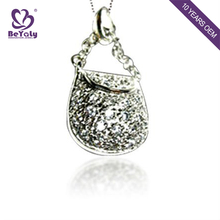 2018 modern new design wholesale silver gold pendant