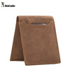 Moshi Hot Sale High Quality Genuine Leather Wallet Money Bag Leather Purse Men Wallet B-201