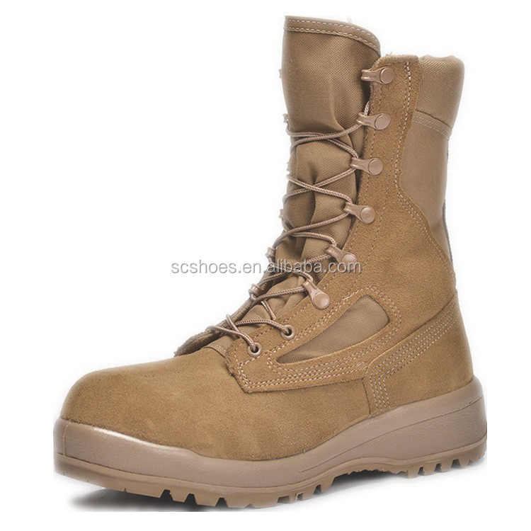 Suede leather military army desert <strong>boots</strong>