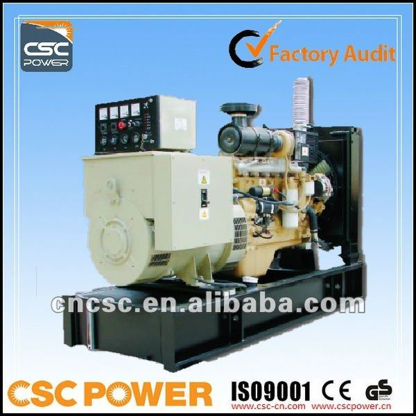 Factory Audit !! CSCPower with cummins engine 125kva Diesel Generator Set 18L/H Low Fuel Consumption