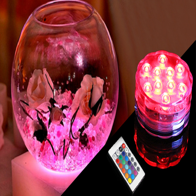 Remote Control Submersible Flameless Wireless Led Outdoor Light Diwali lights