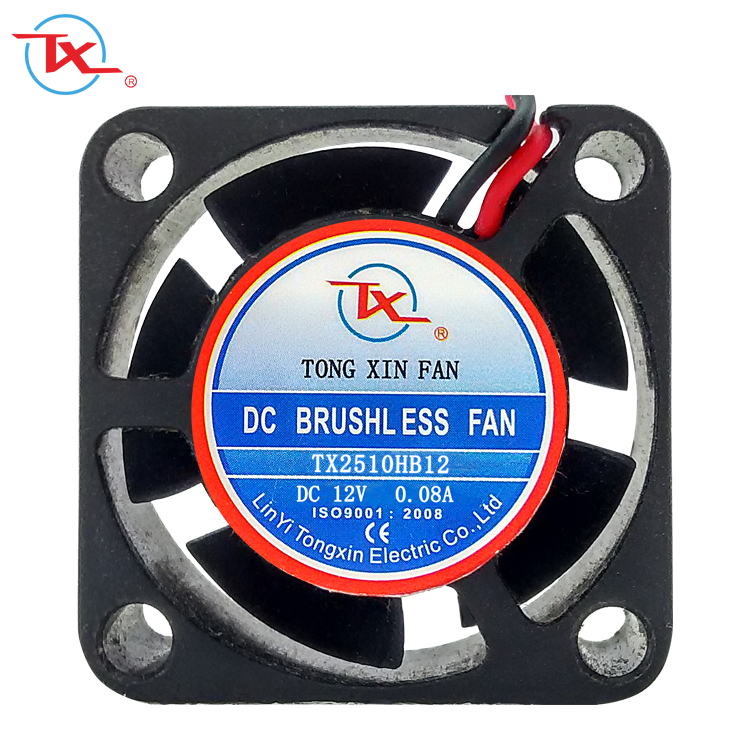 Notebook CPU cooling FAN For TONGXIN 2510 12V 0.12A TX2510 25*25*10mm