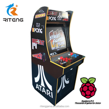 17 inch paspberry pi 3 Pac Man / Ms Pacman / Donkey Kong / Space invader / Galaga mini jamma arcade upright video game machine