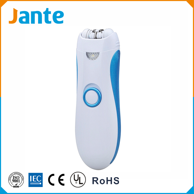 JANTE Hot Sell 2016 New Products Electric Lady Hair Remover Women Shaver Battery