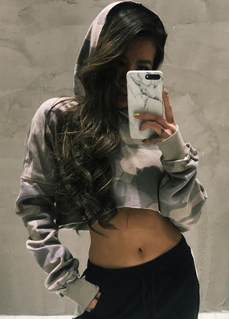 Custom sexy girls v neck flare sleeve knit jumper hot cropped sweater design for women