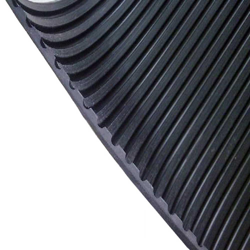3.5MM 100/1 V-Grooved Corrugated Ribbed Rubber Matting