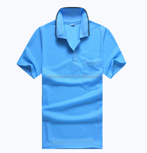 Custom Breathable Eco Polyester OEM Logo Men Promotion Polo T Shirt