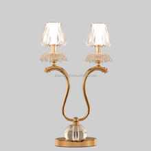 Luxury crystal antique chandeliers table lamp