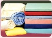 Jersey Knitted Fitted Sheets 50% Cotton 50% Polyester