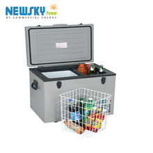toolbox fridge table for mini fridge solar powered camping cooler small deep car freezer DC mini portable freezer