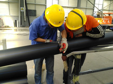 PE 100 110mm hdpe pipe for supply water