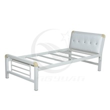Factory prices double deck used cheap bunk beds/adult metal bunk bed sales/dormitory beds for motel