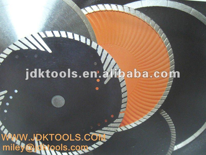 small diamond saw blade for dry/wet cutting