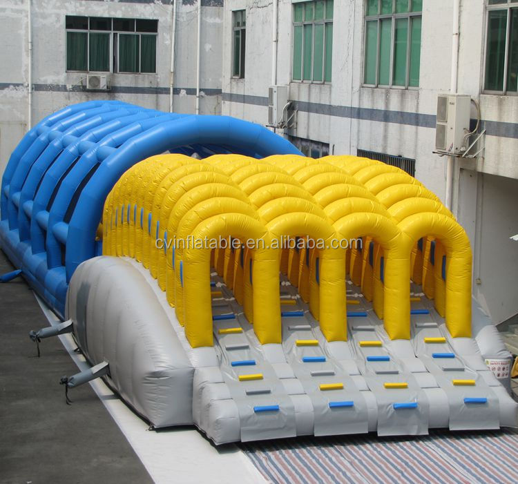 Adult Running man 5k inflatable obstacle course for sale /Hot 5K Insane Inflatable Obstacle Course For Running Race